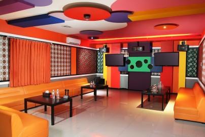 karaoke interior