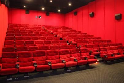 Cinema from leftside